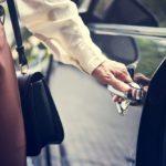 Zadbany samochód - obraz